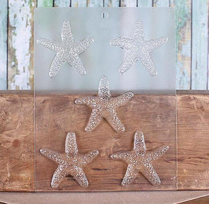 Starfish Chocolate Mold: 3"