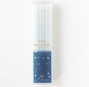 Color Changing Straws: Navy | www.bakerspartyshop.com