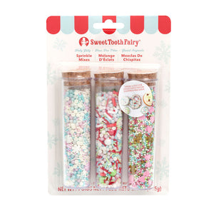 Sweet Tooth Fairy Sprinkles Kit: Holly Jolly | www.bakerspartyshop.com