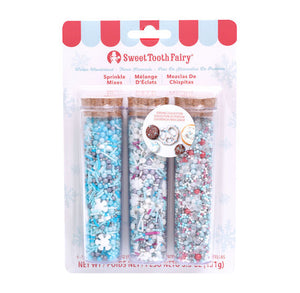 Sweet Tooth Fairy Sprinkles Kit: Winter Wonderland | www.bakerspartyshop.com