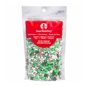 Tis the Season Christmas Sprinkle Mix by Sweet Tooth Fairy | www.bakerspartyshop.com