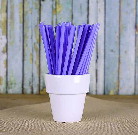"Bulk Light Purple Lollipop Sticks (4 1/2"") 