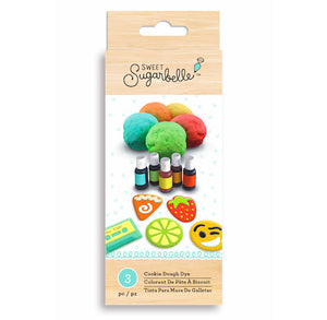 Sweet Sugarbelle Cookie Dough Dye Set | www.bakerspartyshop.com