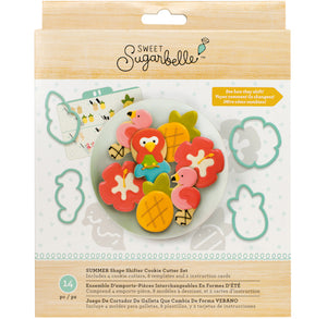 Sweet Sugarbelle Summer Cookie Cutter Kit | www.bakerspartyshop.com
