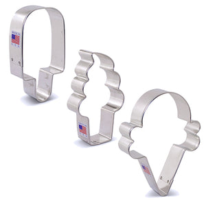 Summer Treats Cookie Cutter Set | www.bakerspartyshop.com