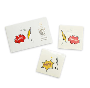 Superhero Temporary Tattoos | www.bakerspartyshop.com