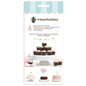 Sweet Tooth Fairy Magic Sweet Stand Decals | www.bakerspartyshop.com