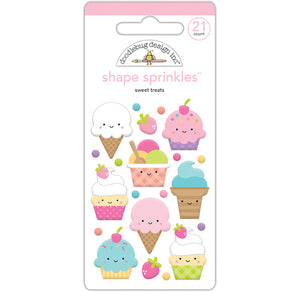 Glossy Sweet Treats Stickers | www.bakerspartyshop.com
