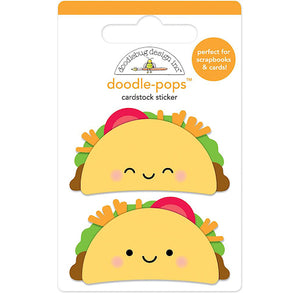Large Taco Sticker | www.bakerspartyshop.com