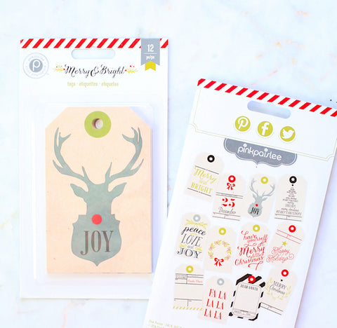 Large Christmas Gift Tags | www.bakerspartyshop.com