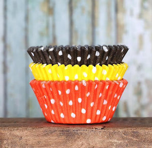 Polka Dot Cupcake Liners: Thanksgiving