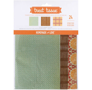 Thanksgiving Treat Tissue Paper | www.bakerspartyshop.com