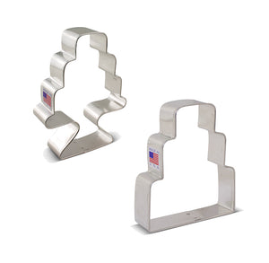 Wedding Cake Cookie Cutter Set | www.bakerspartyshop.com
