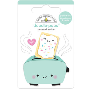 Large Toaster Time Stickers | www.bakerspartyshop.com