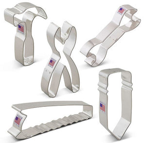 Tool Set Cookie Cutters | www.bakerspartyshop.com