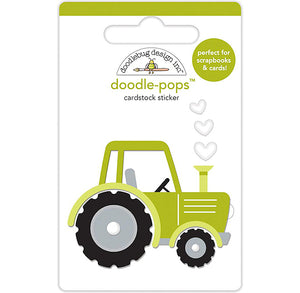 Large Tractor Sticker | www.bakerspartyshop.com