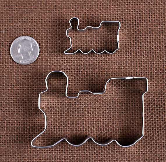 Train Cookie Cutters | www.bakerspartyshop.com