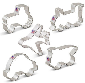 Transportation Cookie Cutters Set | www.bakerspartyshop.com