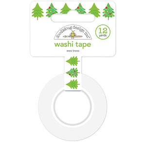 Christmas Washi Tape: Wee Trees | www.bakerspartyshop.com