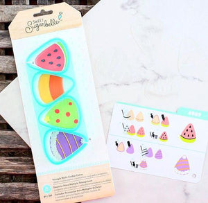 Sweet Sugarbelle Multi Triangle Cookie Cutter | www.bakerspartyshop.com