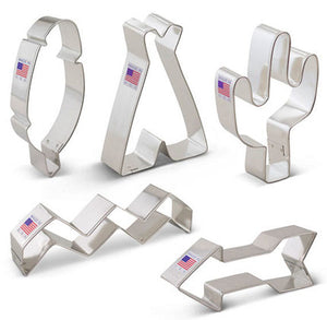 Tribal Boho Cookie Cutters Set | www.bakerspartyshop.com