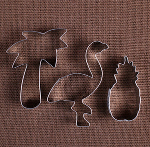 Tropical Cookie Cutter Set | www.bakerspartyshop.com