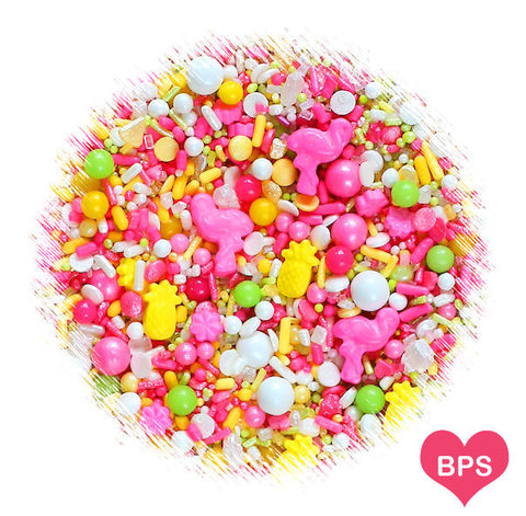 Sprinklefetti Tropical Sprinkle Mix | www.bakerspartyshop.com