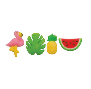 Tropical Sugar Toppers | www.bakerspartyshop.com