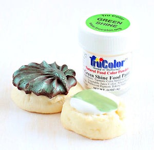 TruColor Green Shine Food Paint Powder | www.bakerspartyshop.com