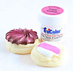 TruColor Pink Shine Food Paint Powder | www.bakerspartyshop.com