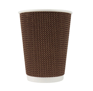 Coffee + Hot Cocoa Cups: Tweed Brown | www.bakerspartyshop.com