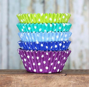 Polka Dot Cupcake Liners: Under the Sea