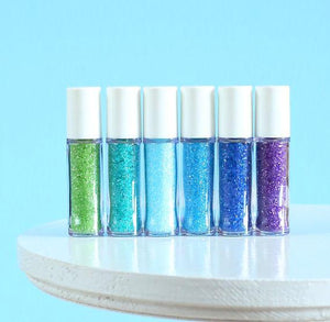 Mini Under the Sea Sprinkles Set: Sanding Sugar | www.bakerspartyshop.com