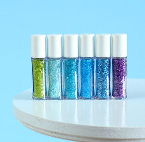 Mini Under the Sea Sprinkles Set: Sparkling Sugar | www.bakerspartyshop.com