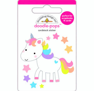 Large Unicorn Sticker | www.bakerspartyshop.com