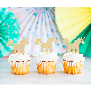 Unicorn Cupcake Toppers | www.bakerspartyshop.com