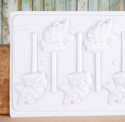 Hard Candy Unicorn Lollipop Mold | www.bakerspartyshop.com