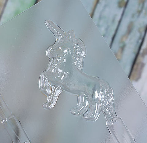 Unicorn Lollipop Mold | www.bakerspartyshop.com