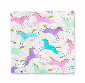 Magical Unicorn Napkins | www.bakerspartyshop.com