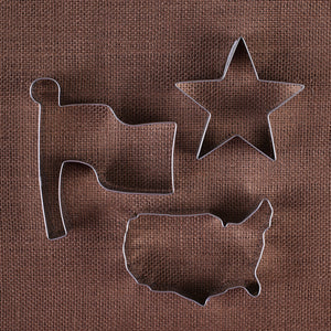 Patriotic Cookie Cutter Set | www.bakerspartyshop.com