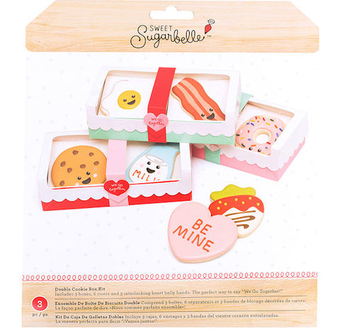 Sweet Sugarbelle Valentine's Day Cookie Boxes | www.bakerspartyshop.com