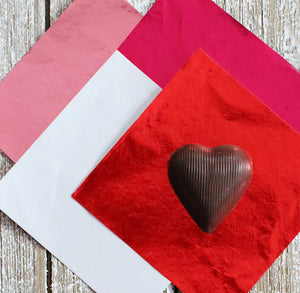 Valentine's Foil Candy Wrapper | www.bakerspartyshop.com