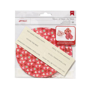 Valentine's Day Fortune Cookie Kit | www.bakerspartyshop.com