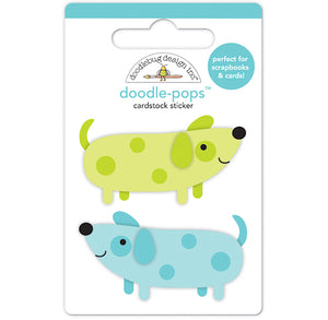 Doodle-Pops Cute Dog Stickers | www.bakerspartyshop.com