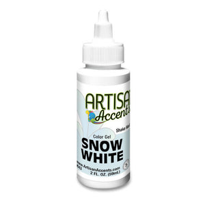 Artisan Accents White Color Gel Food Coloring | www.bakerspartyshop.com