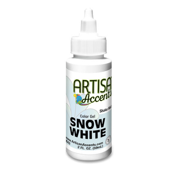 Artisan Accents White Color Gel Food Coloring