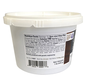 Satin Ice ChocoPan White Covering Chocolate: 1 lb | www.bakerspartyshop.com