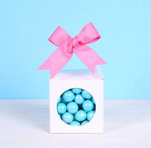 Lantern Candy Favor Box: White