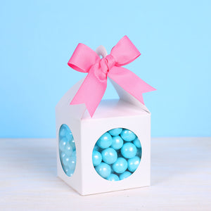 Lantern Candy Favor Box: White | www.bakerspartyshop.com