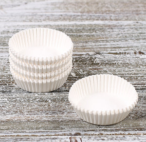 Small White Candy Cups | www.bakerspartyshop.com